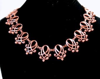 Vintage Renoir Copper Necklace