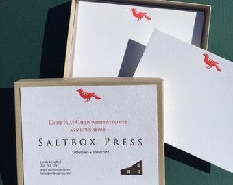 Red Bird, correspondence cards