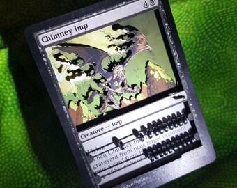 Layer Art- 3D- Life Counter: Chimney Imp - Magic the Gathering