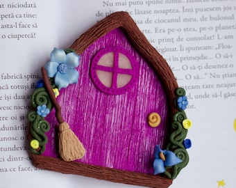 Purple Fairytale Door