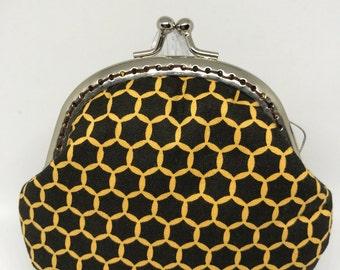 Handmade Coin Purse - Bee House