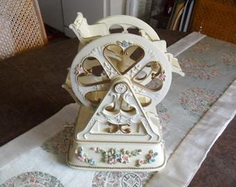 Vintage Faris Wheel Musical Figurine