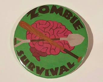 Zombie Survival Button