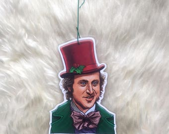 Willy Wonka CHRISTMAS ORNAMENT!