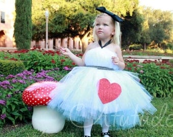 Alice in Wonderland Tutu Dress | Alice Tutu | Alice Tutu Dress | Alice In Wonderland Costume | Alice Dress | Wonderland Dress | Onderland