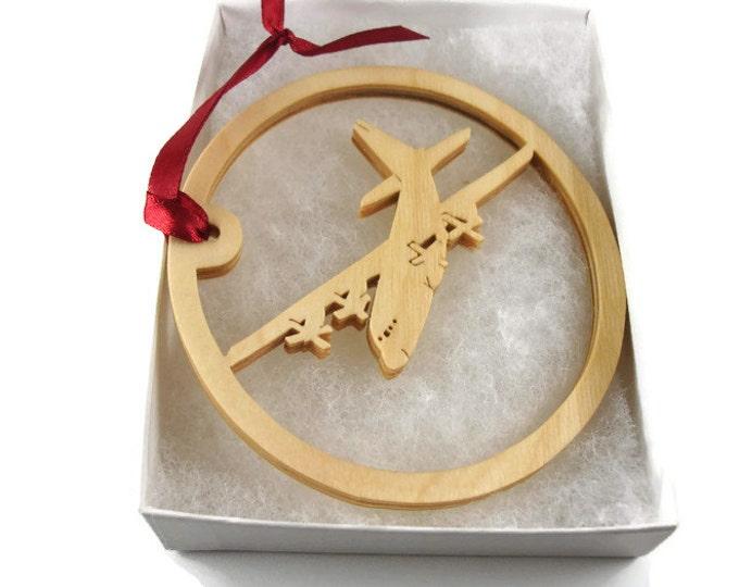 MC130H Combat Talon II Plane Christmas Ornament Handmade From Birch Wood By KevsKrafts