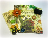 NEW Graphic 45 Nature's Sketchbook Inspiration Kit, Embellishment Kit for Scrapbooks Cards Mini Albums Tags and Paper crafts