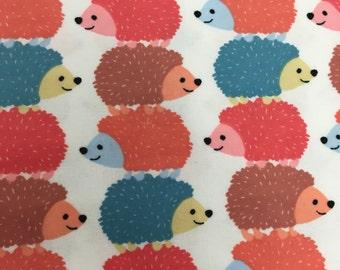 Owls  - Flannel Fabric - BTY