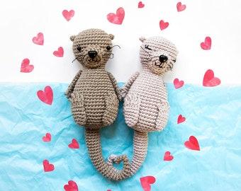 Otterly in love - Otters Amigurumi Pattern
