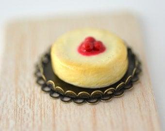 Miniature Cheesecake Cherries Fashion Royalty Barbie  Momiko Dollhouse Bakeryon Etsy