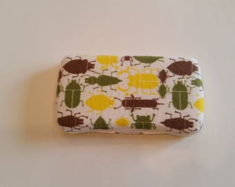 Baby Wipes Case, Travel Wipes Case, Wipes Case, Bugs, Yellow