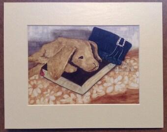 Grandma - Print of original Watercolor painting