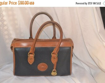Dooney Bourke Bag~ X XLarge Bag~ Speedy  Bag~ Satchel~Blue Dooney ~ Bag Handbag Excellent