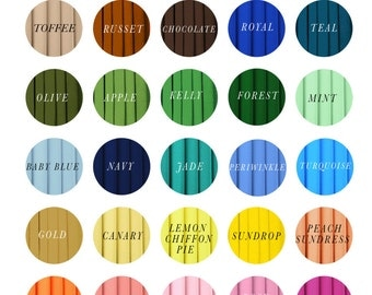 Fabric Swatch for the Infinity wrap dress or top // .99 cents per color sample - Free Shipping to the US