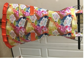 Messy and Creative  Full Ladies Apron Ready to ship Free upgrade to Priority