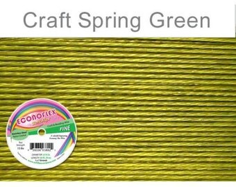 Econoflex Fine Spring Green Wire .014 Diameter  - 30Ft Wholesale Price (11353)/1