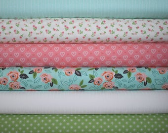 Sugar Pie Fat Quarter Bundle of 6 by Vanessa Goertzen of Lella Boutique for Moda 2 LEFT