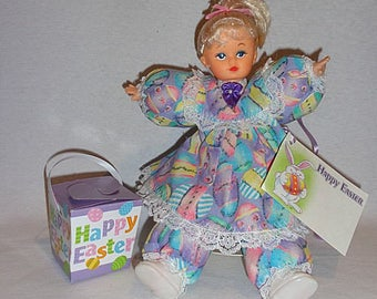 Laticia, one of a kind Caucasian Easter collectible doll