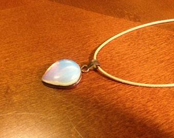 Opalite Pendant Necklace