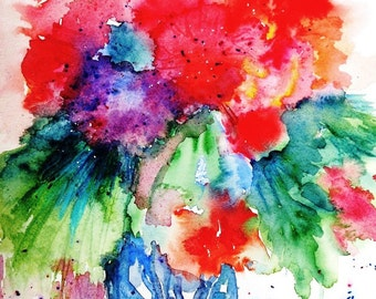 Essence of Summer  -  Original Watercolour painting -