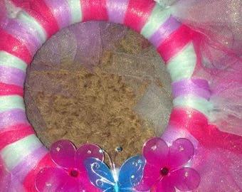Spring/Summer Tulle Wreath