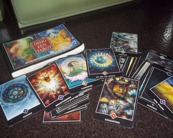 Osho Zen Tarot cards and Instruction Book - dated 1994  - Game of Zen!
