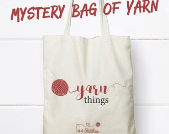 Mystery Yarn Bag DeStash