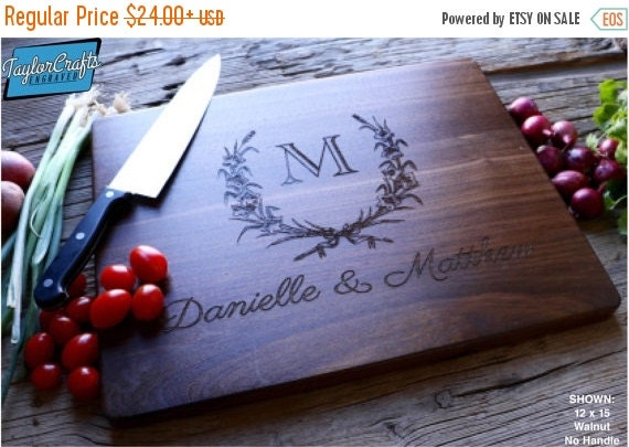 Love Personalized Sale - Engraved Cutting Board, Cutting Board, Personalized Cutting Board, Personalized Wedding Gift, Wedding Gift, Christm