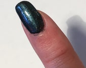 Exclusive polish - Sparkly teal