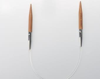 "ChiaoGoo Bamboo Circular Knitting Needles 9"" (23 cm)"