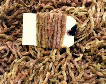 TOAST Hand-dyed Chenille Plush OR Pom Pom Trim : continuous yards Lady Dot Super Soft Plump Fuzzy Finishing notion