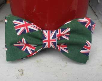British Are Coming Bow Tie