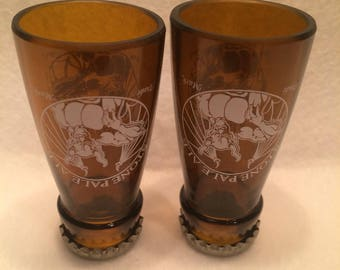 STONE PALE ALE Set of 2 Shot Glasses