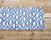 Handmade Table Runner - Ovals - Color Options to choose from