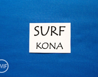 One Yard Surf Kona Cotton Solid Fabric from Robert Kaufman, K001-32