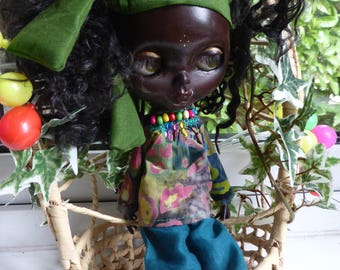 Blythe African/Caribbean Holiday Outfit (BD10117)