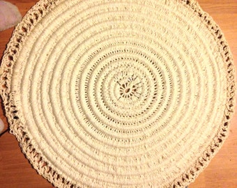 LED Round Rug
