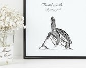Painted Turtle Print | 8&...