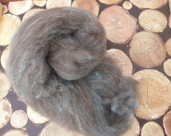 Fibre Batt for spinning, felting, jacob fleece, Alpaca, blended fibre batt 100g