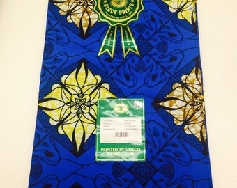High-end Best Ankara Vlisco Hollande Star Super Wax/VLISCO PRINTS/African Fabric/Crafts/African Clothing/Vlisco Holland Super Wax 6 yards