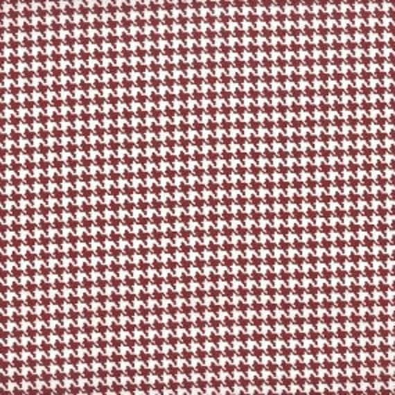 Houndstooth fabric,Burgundy and white houndstooth fabric,100% cotton,Quilt fabric,Apparel fabric,Craft,Sold by FAT QUARTER INCREMENTS