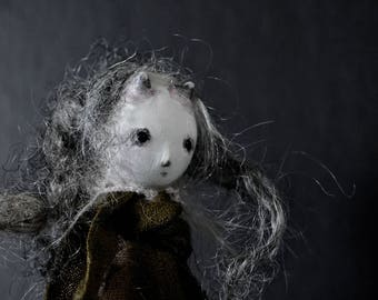 OOAK Art Doll  - The Abandoned One - Ganeida
