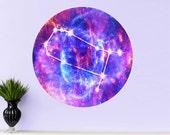 GEMINI Star Sign Wall Decal - Zodiac Horoscope Symbol - Astrology Decor - Gift Idea