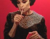 Audrey Horne Twin Peaks portrait series #5