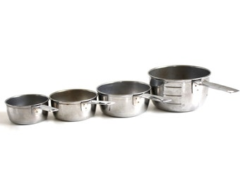 Foley Measuring Cup Set stainless steel