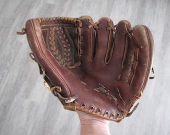 Vintage Children's Leather Baseball Glove