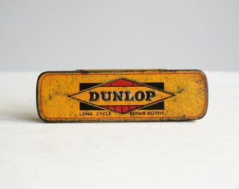 vintage dunlop long cycle repair kit tin