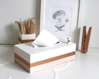 Wooden Tissue Box Cover, Tissue Storage, Tissue Holder, Tissue Box, Napkin Holder