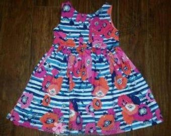 Girls Scoop back dress