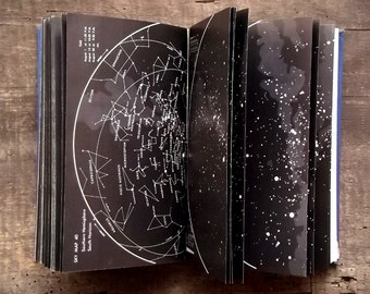 Astronomy book Guide to the Stars and Planets vintage book
